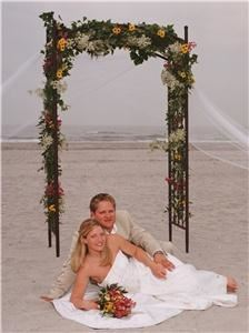 Laguna Grill & Martini Bar, Brigantine — BEACH CEREMONY