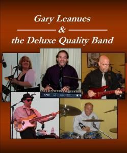 Gary Leanues & the Deluxe Quality Band - Boston, Boston — Providing quality music, versatility and adaptability to accommodate all of your entertainment needs. Available as a solo performer or up to an 8 piece show band, including female vocals and a horn section, Gary Leanues and the Deluxe Quality Band offer dynamic vocalists, seasoned musicians and an expansive song list covering all genres of music. Entertainer and musical director Gary Leanues brings to the table many years of experience as a musician, vocalist, MC and coordinator for wedding receptions and special events. Members of the Deluxe Quality Band include some of the most talented and versatile musicians in MA and RI.