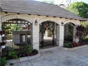 Stone Creek Terrace, Frisco — Front entrance to Patio area