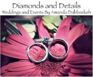 "Diamonds and Details, LLC, Phoenixville — The mission of Diamonds and Details is to provide clients with a unique take on Event Planning.  Planner Amanda Dabbeekeh aims to be relatable to each of her clients and welcomes their ideas and suggestions.  By focusing on each and every detail, Amanda makes planning as stress free as possible. She works to provide the highest level of professionalism by remaining organized and accessible to her clients.  Diamonds and Details ultimate goal is to take a simple party from a ""diamond in the rough"" to a ""flawless and sparkling"" event!"