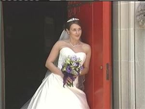 JPS Wedding Videos, Fishers — This is a still frame from a wedding video.
