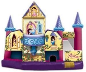 Aloha Inflatables, Mililani — Disney Princess 5-in-1 Combo