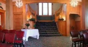The Grand Stairway, Bayliss Park Hall, Council Bluffs — The Grand Stairway For your grand entrance.