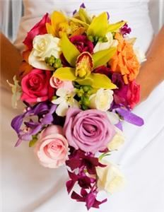 Annie's Orchids, Red Bank — A stunning bridal bouquet!