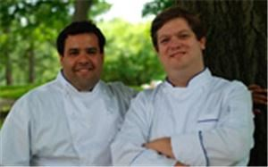 Forklift Catering, Jamaica Plain — Dennis Tourse and Jamie Rogers, Chef/Owners of Forklift Catering.