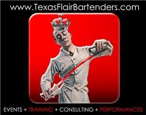 Texas Flair Bartenders, Carrollton — Texas Flair Bartenders are a bartending service and entertainment packed into one. Texas Flair Bartenders can handle any type of event, backyard BBQ or even Texas sized event. We are equipped with all of the bartending supplies that are needed, including portable bar. We are also available for shows or training needs.