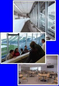 Press Box and Dining Room, Paul Brown Stadium, Cincinnati