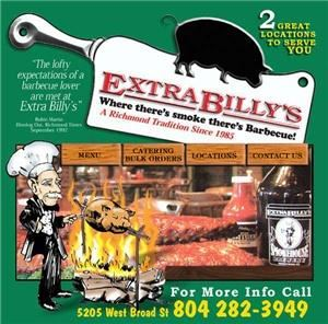 Extra Billy's Barbecue, Richmond