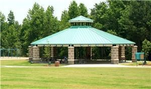 Pavilion, Bay Creek Park, Loganville — Bay Creek Park Large Pavilion