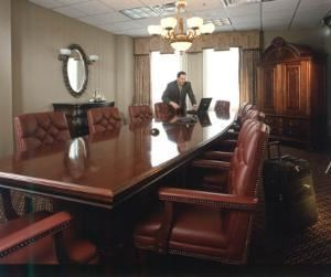 Washinton Executive Boardroom, Historic Hotel Utica Clarion Collection, Utica