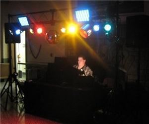 DJ TomTom, Perrysburg — Running my rig at an awesome party!!!!!!