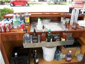 Bottom's Up Beverage Inc., Lake Worth — Just 1 of our bars at a car show