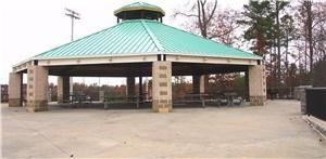 Pavilion, Holcomb Bridge Park, Norcross — Holcomb Bridge Park Large Pavilion