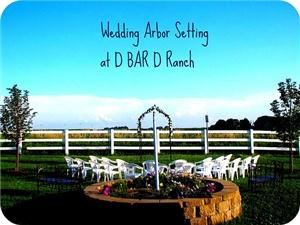 D BAR D Ranch Wedding Venue, Louisville — Our Wedding Arbor can be a your perfect venue for your special day.
