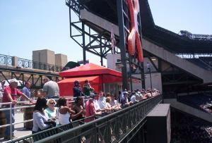 Braves Chophouse & Top of the Chop Patio, Turner Field, Atlanta — Top of the Chop Patio