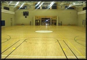 Gymnasium, Union City Sports Center, Union City