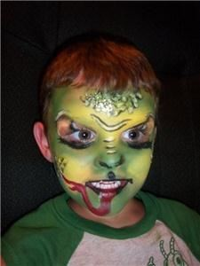 Wild Creations Face Painting, Three Rivers