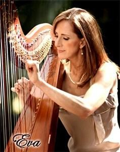 Harp Elegance By Eva, Saint Louis — Harpist with degree in Harp Performance, and over 30 years world-wide, professional experience. Playing all types of music on the concert harp, for all occasions, throughout the greater St. Louis area and Southern Illinois.  Please  see my website for several video examples of my harp-playing style.