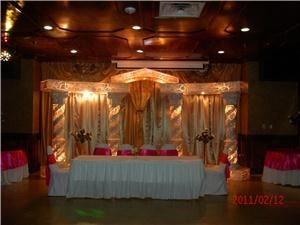 Oduduwa Hall, Pioneer Event Center, Grand Prairie — 20,000 sq.feet of elegance decor and spectacular fiberglass photograph scenery for your special event.