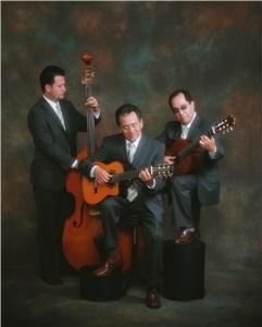 Trio Casablanca Productions, West Covina — Trio Casablanca has been known as one of the best Trios in the United States for their romantic interpretations of the Bolero, and as the original and traditional style of the romantic Trio.
