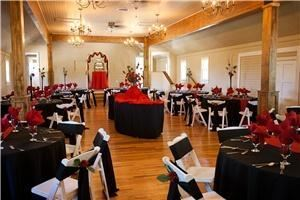 Entire Facility, Century Hall and Gardens, Eagle — Elegant chandeliers, beautiful beams, antique hardwood floors, and neutral colours will compliment any accents!
