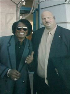 "EXECUTIVE BODYGUARD SERVICES,LLC, Newark — 17 years as security chief for James Brown ""The Godfather of Soul"", and other clients such as ""Prince, Micheal Jackson, Senator Diane Fienstien, and many others, you can trust the EBS can be the leader for your security provider."