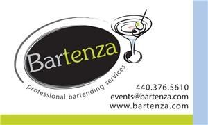 Bartenza, Strongsville — Bartenza provides exceptional cocktail and bartending services for private parties, corporate functions, and charity events.  We pride ourselves on responsible and courteous service with attention to detail.  We specialize in customizing a drink menu just for your occasion.  It makes it fun for you and your guests to try new drinks!  