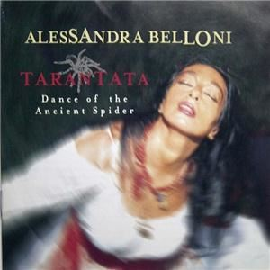 Yuri Lev Studio, Newark — A CD cover for Alessandra Belloni, a singer and dancer.