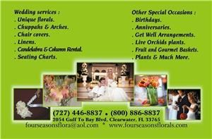 Four Seasons Florals & Events, Clearwater