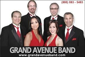 Grand Avenue Band, Cleveland — The Grand Avenue Band's high-energy performance will keep you dancing all night long and their experienced Master Of Ceremonies will ensure that your event runs smoothly and to your satisfaction. Individually members of the band emanate personality and talent. Together as a group they are simply amazing and able to please even the most discriminating audience. An extraordinary combination of 5 fabulous vocalists and multi-instrumentalists puts them in a class of their own, gives them unparalleled versatility in song selection and the ability to give authentic renditions that sound like original recordings. The band performs Jazz Standards, Motown, Pop/TOP 40, Hip-Hop, Disco, Rock and Oldies. The band also performs many Jewish, Irish Italian and Greek songs and is perfect for multi-cultural events with a diverse guest list. Photo