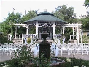 Gazebo, The Garrison McLain House, Texarkana