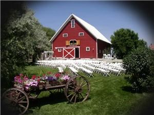 Lazy B Farm, Bozeman — The authentic Lazy B Farm is Montana's premier rustic wedding & event venue.  It offers 3 outdoor settings to choose from and 2 heated floors for an indoor alterantive. In addition, it features heated indoor restrooms and a kitchen area for cleanup.