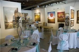 Wedding Rehearsal Dinner, Muse & Co Fine Art Gallery, Roswell