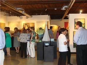 Retirement Party, Muse & Co Fine Art Gallery, Roswell