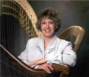 Harpist Serena O'Meara - La Crosse, La Crosse — Professional harpist, Serena O'Meara makes weddings, receptions, parties, events sparkle with the sound of her harp. She performs solo lever or pedal harp; and duos/trios with Flute,  Piano, Voice or multiple Harps. Serena has recorded 6 CD's. She loves performing Contemporary hits, Soft Rock, Classic Rock, Classical, Folk - especially Celtic, Holiday, Broadway, Sacred or New Age music. Serena is available for daytime or evening events. She utilizes her training in Music Therapy to set the exact right ambiance.