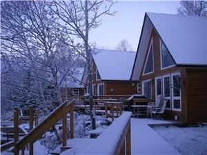 Riverfront Chalets, Grand Falls-Windsor — Open year round!