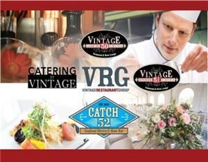 Catering By Vintage, Leesburg — The Vintage Restaurant Group has taken its unique culinary craft and relationship with it's local agricultural partners and has incorporated it into it's new division: Catering By Vintage. This new aspect of VRG combines fresh local products with our philiposphy of farm to fork catering. With a full time event planner, executive chef and partnerships with several Loudoun event sites, Catering By Vintage offers the full package for your next special event