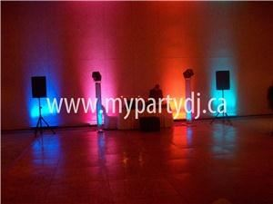 My Party Dj, St Thomas — Uplite wedding at the Hilton in London Ontario.