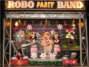 Robo Party Band, Sacramento — From their mobile sound stage right to your door steps.  The Robot Band performs their Christmas Music Show.  It's a half hour show of non stop music and fun for everyone!  Show times available right now to Christmas Day.  Reserve your Christmas Music Show Today!  Reservations on line at   www.robopartyband.com  or call our reservations hotline at  916-317-8837.  Shows are currently only available in the Sacramento, California Area and Immediate Vicinities.
