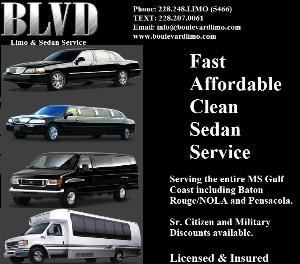 Boulevard Limousine and Sedan Service, Gulfport