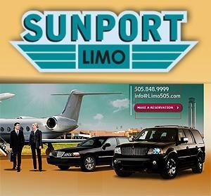 Sunport Limo, Albuquerque — Sunport Limo serving Albuquerque establishes a standard of excellence in business and service operations of the transporation industry in the state of New Mexico. We specialize in weddings, Albuquerque airport, graduation, prom night, Wine Tours, party, hotel and Convention Center,ski resorts, spa, Special Event and Excecutive/ Corporate Transportation. We services in Albuquerque , Santa Fe, Taos, Roswell, Belen, Espanola, Los Alamos, Los Lunas, Rio Rancho, Gallup & Farmington, NM.