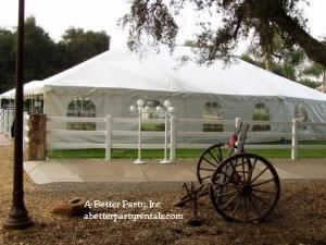 A-Better Party, Lake Elsinore — We specialize in weddings and corporate events.  We offer tents, canopies, heating, lighting, stages, dancefloors, as well as tables, chairs and china.