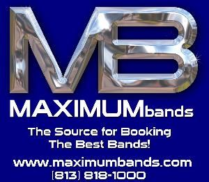 Maximum Bands Entertainment LLC, Tampa — Cover Bands, Tribute Bands, Wedding Bands, R&B, Smooth Jazz, Country, Oldies, Top 40, 80s, 70s, Disco, Dance, Steel Drums, Disc Jockey, Harpist, Flautist, Keyboardist, Acoustic Guitar and more!