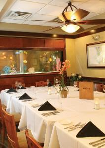 Aquarium Room, Pier 22 Restaurant, Patio, Ballroom & Catering, Bradenton — Aquarium Room