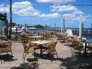 Outdoor Terrace, Pier 22 Restaurant, Patio, Ballroom & Catering, Bradenton — Outdoor Terrace (West Terrace)