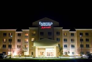 "Fairfield Inn & Suites Muskogee, Muskogee — Join us at Muskogee's Fairfield Inn & Suites because ""Staying is Believing.""  Four floors with 85 spacious smoke-free rooms, offering suites as well.  Complimentary wireless throughout, each room hardwired as well with microwaves and refrigerators in every room.  Conveniently located on Highway 69 accessible to downtown, shopping, attractions, parks and industrial facilities."