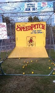 Robo Ball Speed Pitch - See How Fast You Can Throw!, Canoga Park — Speed Pitch Game 