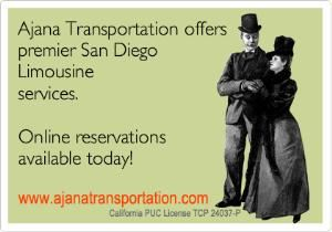 San Diego Limousine Services, Rancho Santa Fe — If you are searching for the best limousine services San Diego , look no further than Ajana Transportation. Whether you use a Lincoln Town Car or one of their fantastic stretch limos, you will be getting the best service and the best price in town.