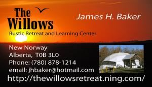 The Willows Rustic Retreat and Learning Center, New Norway — card