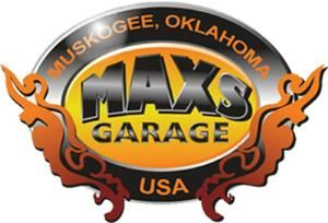Max's Garage, Muskogee — A comfortable place for relaxing drinks, great food, and good company.  For those needing to watch the game we have plenty of TVs for you.  To keep you entertained: Pool, Games, Live Music.